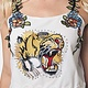 GOD Cropped Tank Top