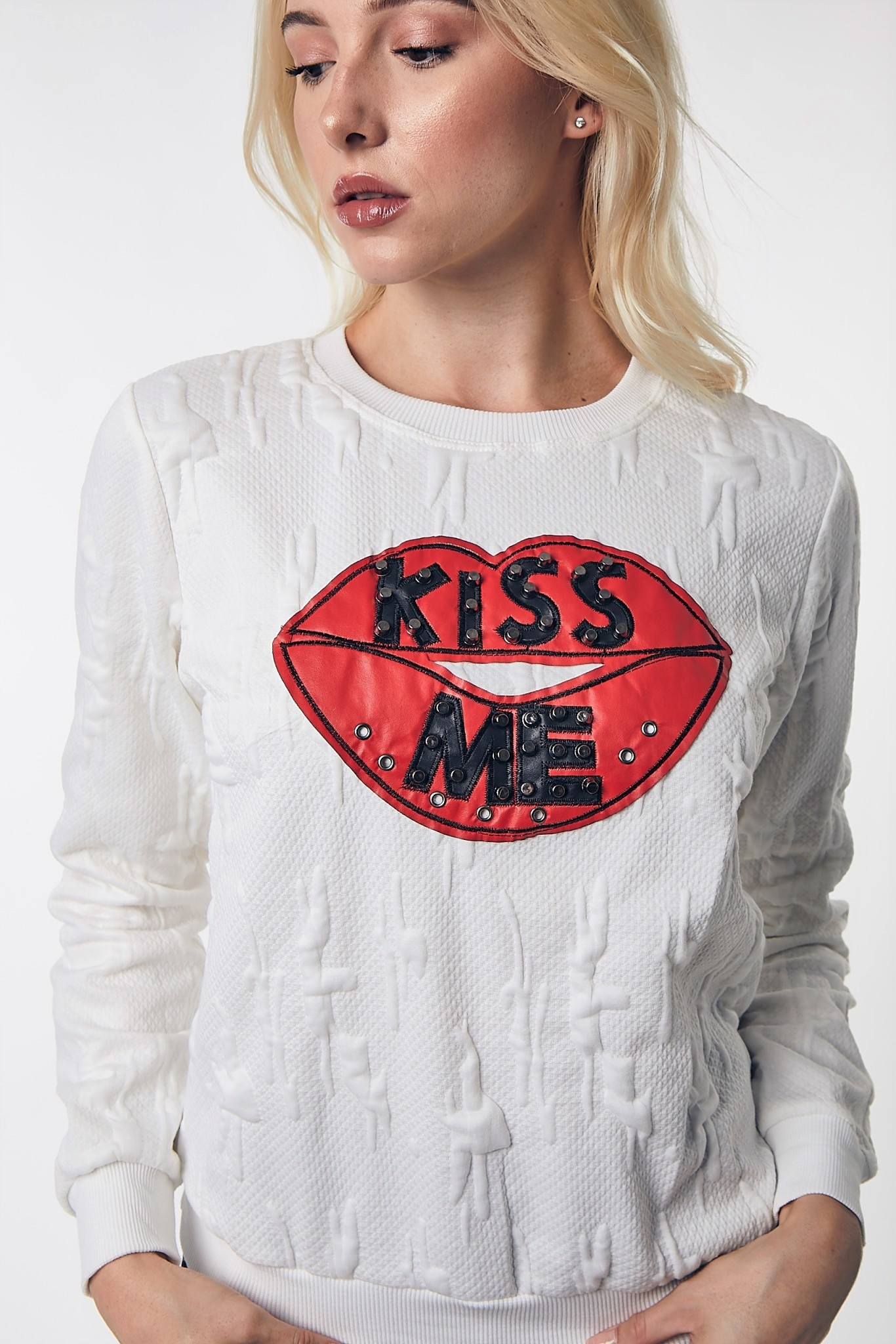 GOD Kiss Me Sweater