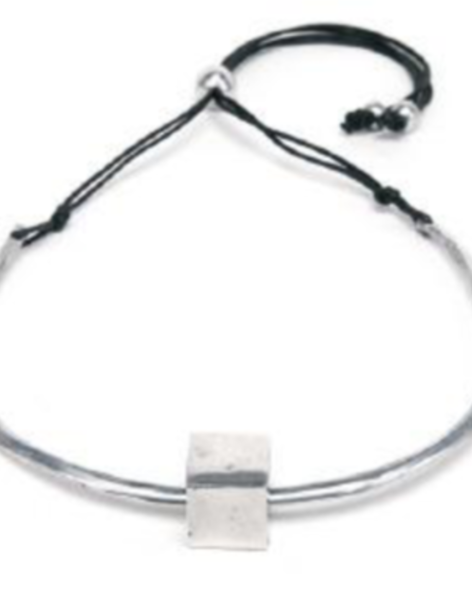 VESTOPAZZO Aluminum Block Necklace