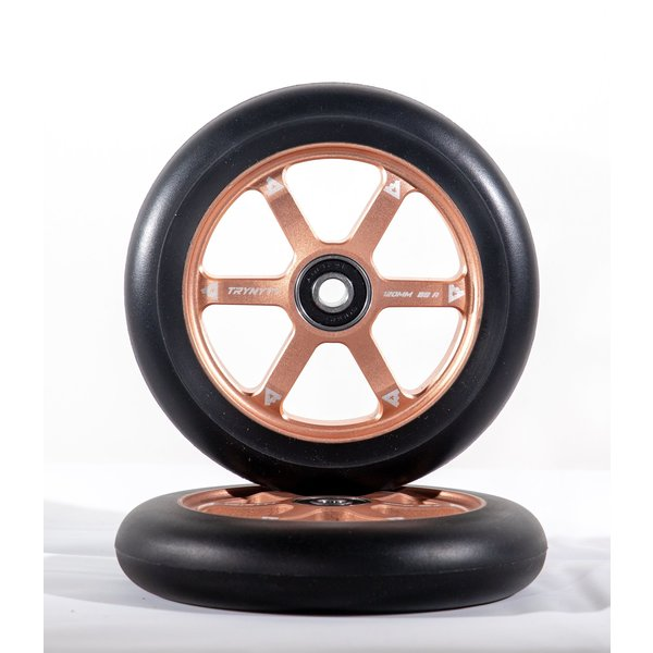 TRYNYTY 120 MM BRONZE WHEELS (2 PIECES)