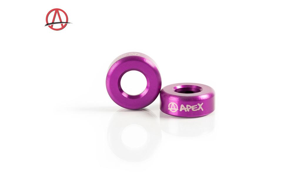 APEX BAR ENDS - PURPLE