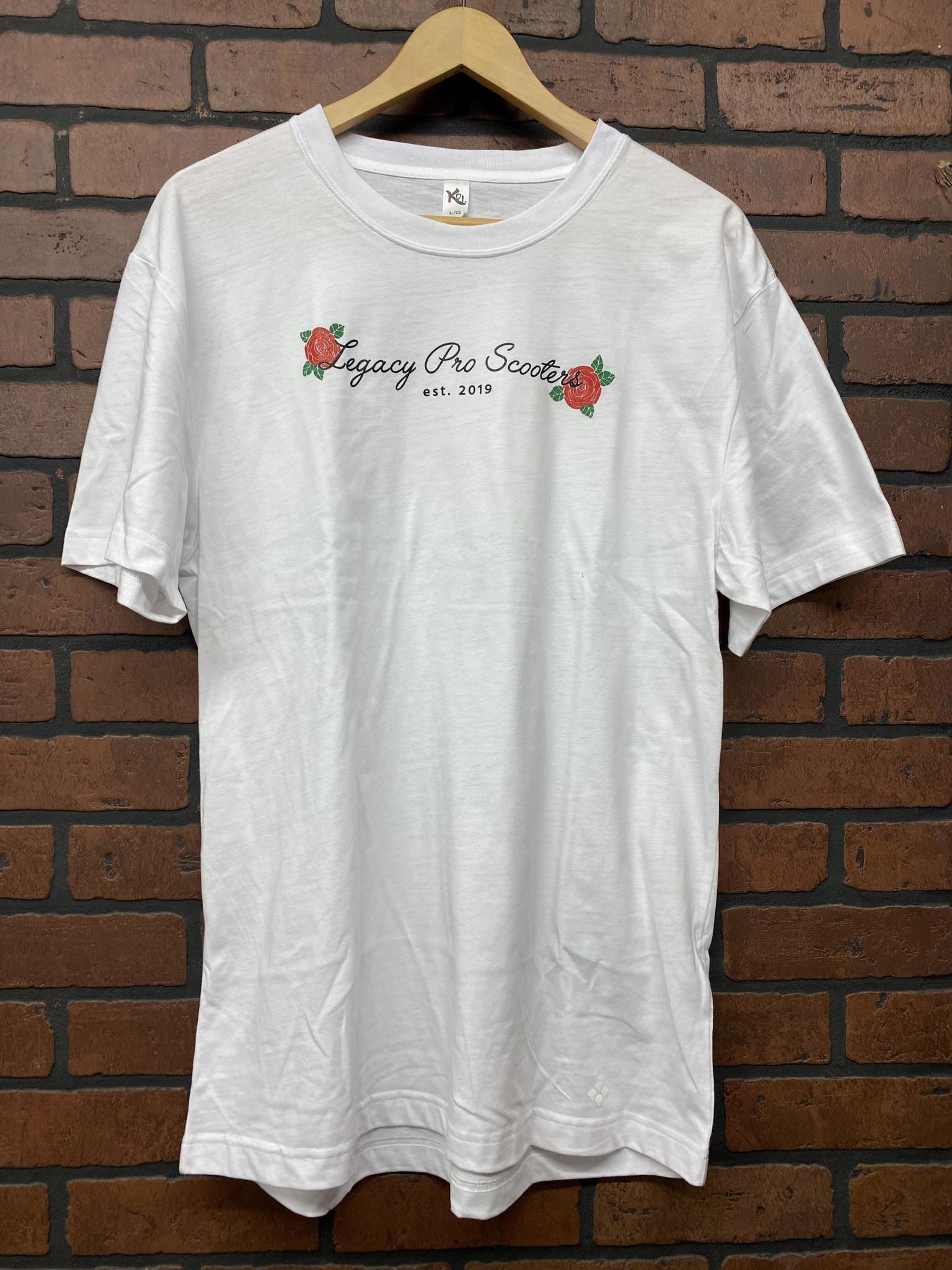 TSHIRT - ROSE - WHITE