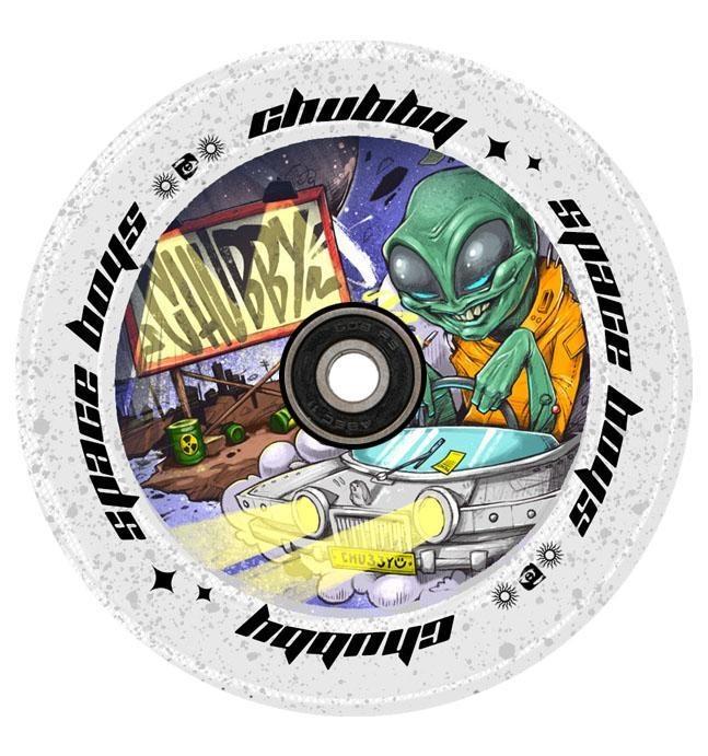 chubby space boys alien wheels
