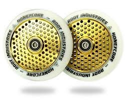 ROOT INDUSTRIES HONEYCORE WHEELS WHITE/GOLD