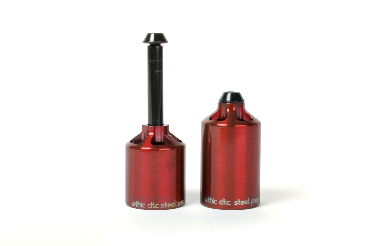 ETHIC DTC STEEL PEGS - RED