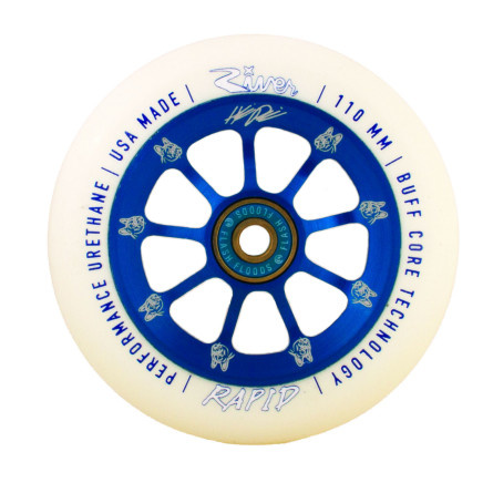 River Wheel Co. Rapids 110mm Wheels - Helmeri Pirinen
