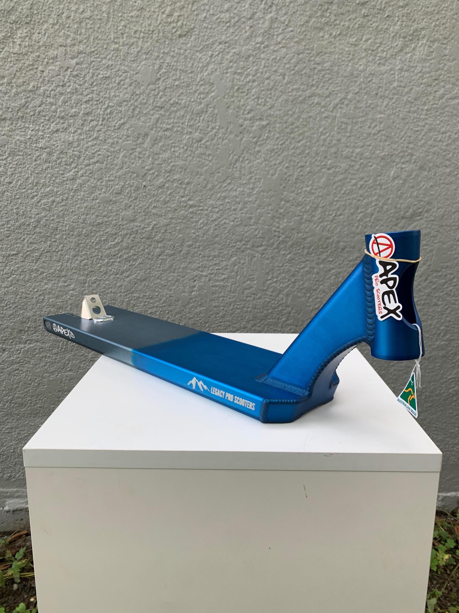 """APEXiD/LEGACY 5"""" X 600MM BOXED DECK - BLUE/GREY"""