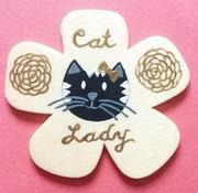 Amelia Custom Cat Pin