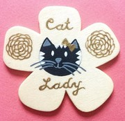 Amelia Custom Cat Pin