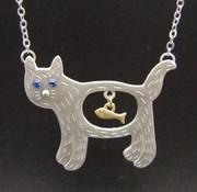 Carla Kitty Necklace