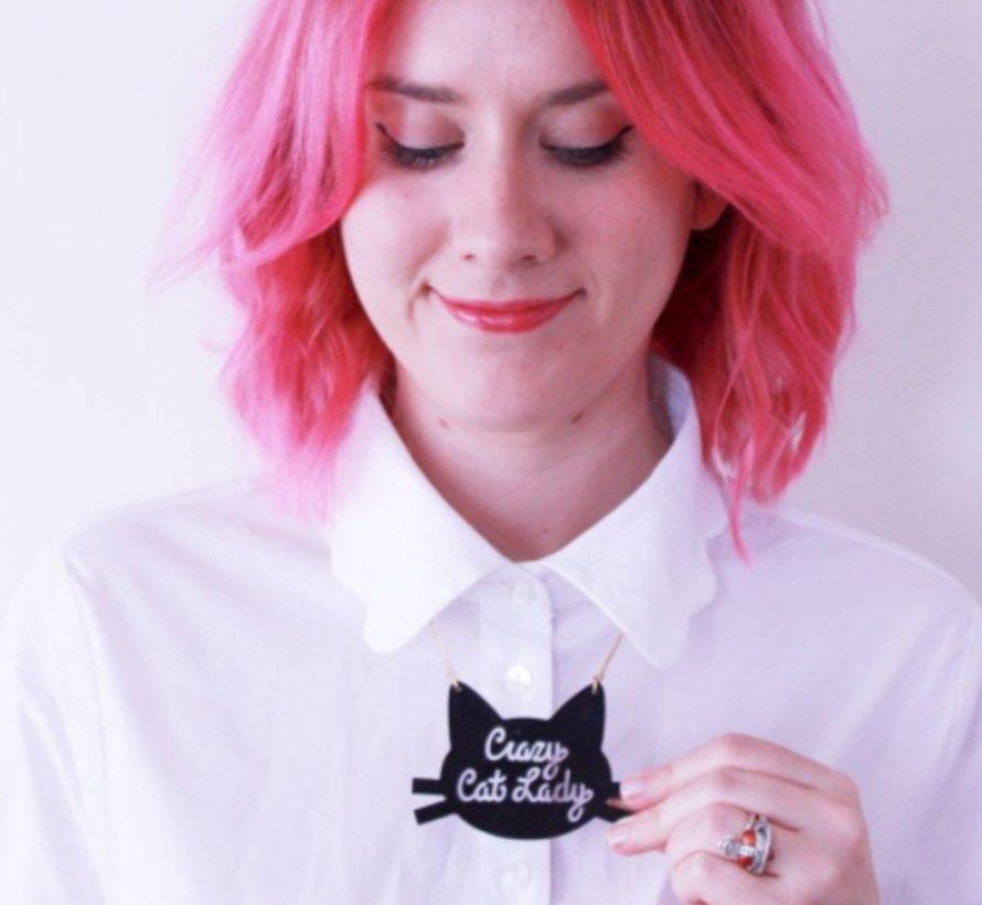 Crazy Cat Lady Necklace