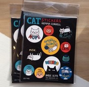 Cattitude Fun Stickers