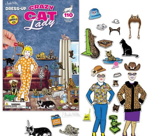 Dress-Up Cat Lady