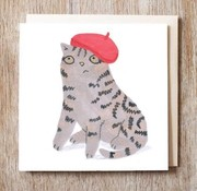 Genevieve Cat in Red Beret