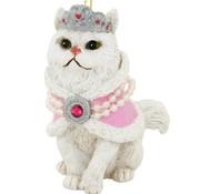 Harlow Princess Cat Ornament