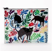 Here Here Kitty Zipper Pouch