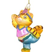 Lulu Yoga Cat Ornament