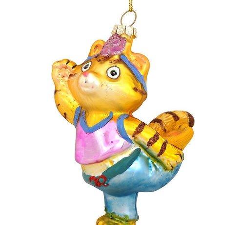 Lulu Yoga Cat Ornament