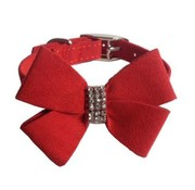 Mabel Bow Velvet Collar