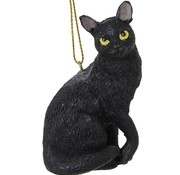 Moonbeam Black Cat Ornament