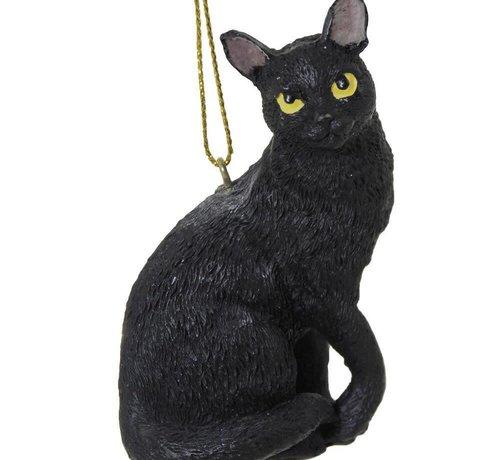 Moonbeam Black Cat Ornament
