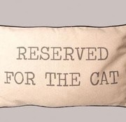 Reserved For the Cat Cushion/Pillow