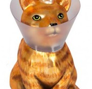 Lefty Cone Kitty Ornament