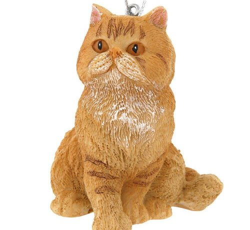 Tasha Shorthair Christmas Ornament
