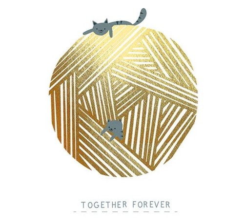 Together Forever Gold Card