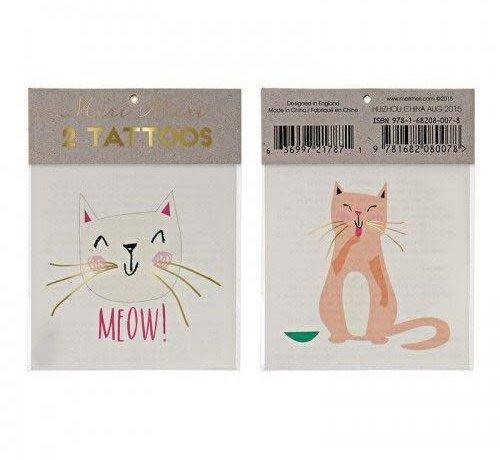 Taffy and Tibby Cat Tattoos