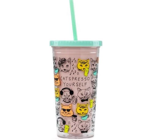 Catspresso Yourself Drink Tumbler
