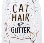 Cat Hair Is My Glitter Tea Towel
