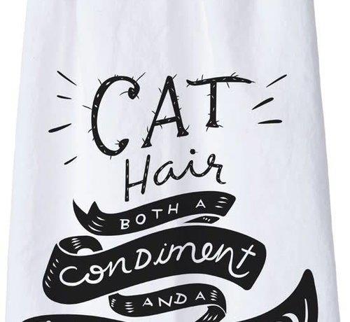 Cat Hair Both A Condiment Tea Towel