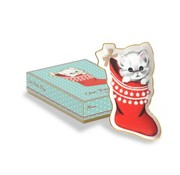 Treat Trays Kitten Stocking