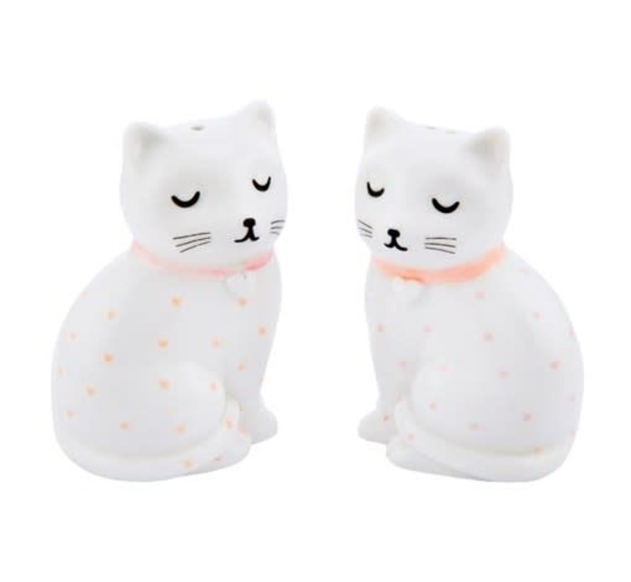 Tic and Tac Salt and Pepper Shakers