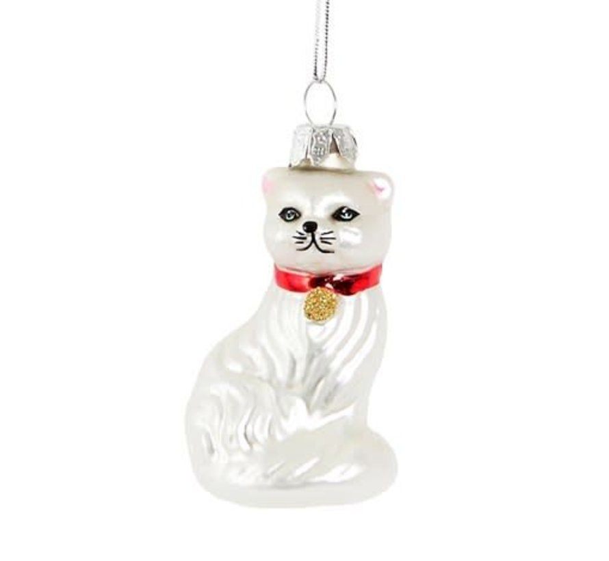 Sparkles Persian Cat Decoration