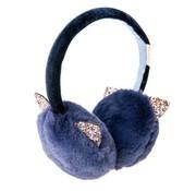 Azrael Glitter Cat Ear Muffs