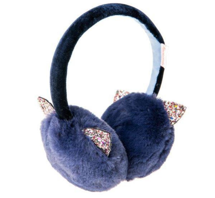 Azrael Glitter Cat Ear Muffs