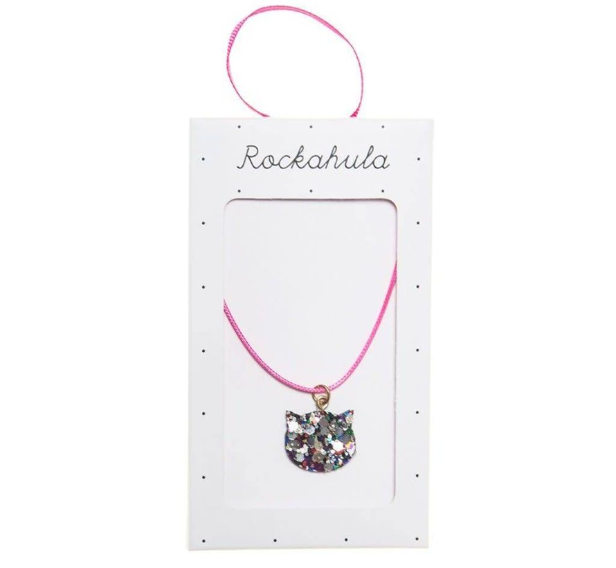 Glitter Cat Necklace