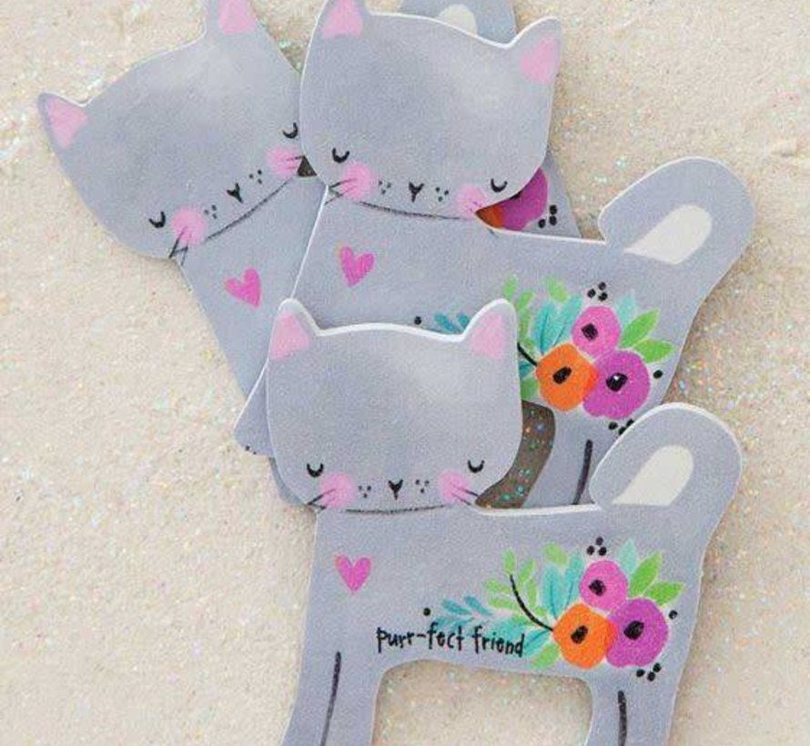 Purr-fect Friend Cat Emery Boards