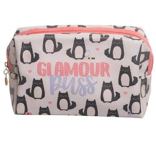 Glamour Puss Makeup Bag