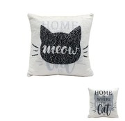 Daphne Cat Sequin Cushion