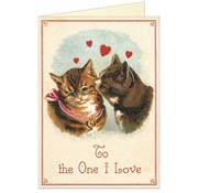 Cat To The One I Love Greeting Card