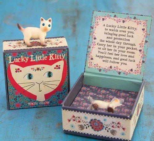 Lucky Little Kitty