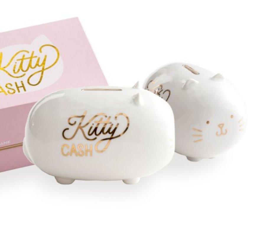 Lucky Penny Piggy Bank Kitty Cash