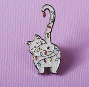 Christmas Kitty Enamel Pin