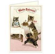Mama and Babies Birthday Card