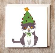 Copy of Bunnie Cat Card