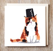 Tippy Top Hat Card