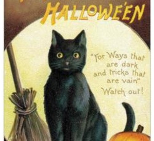 Merry Halloween Card